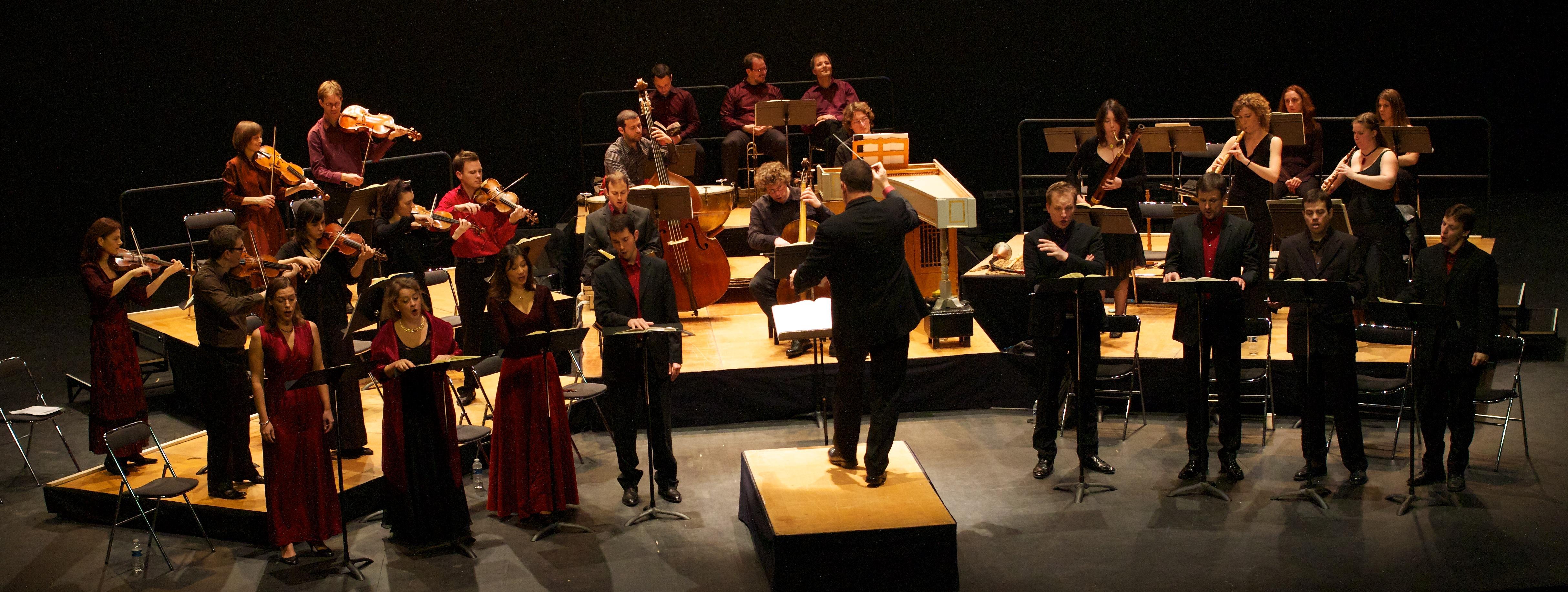 Oratorio de Noël au théâtre des Gémeaux à Sceaux (2010 © C. Cineux)