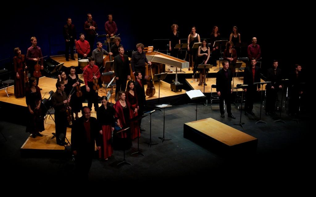 Oratorio de Noël au théâtre des Gémeaux de Sceaux (2010 © C. Cineux)