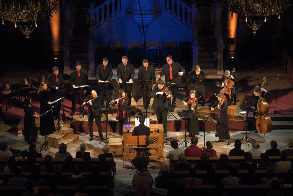 Cantates de Bach à l'église du Temple Neuf, Strasbourg (© J.P. Rosenkranz)