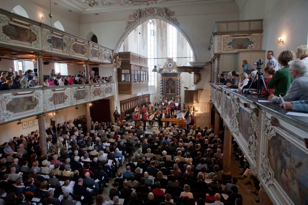 Magnificat d'Uppsala au festival de Regensburg (2008 © Rebecca Bastid)