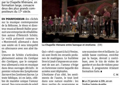 Baroque Érotique - Dernières Nouvelles d'Alsace