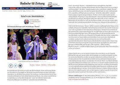 Mouton - Badische Zeitung