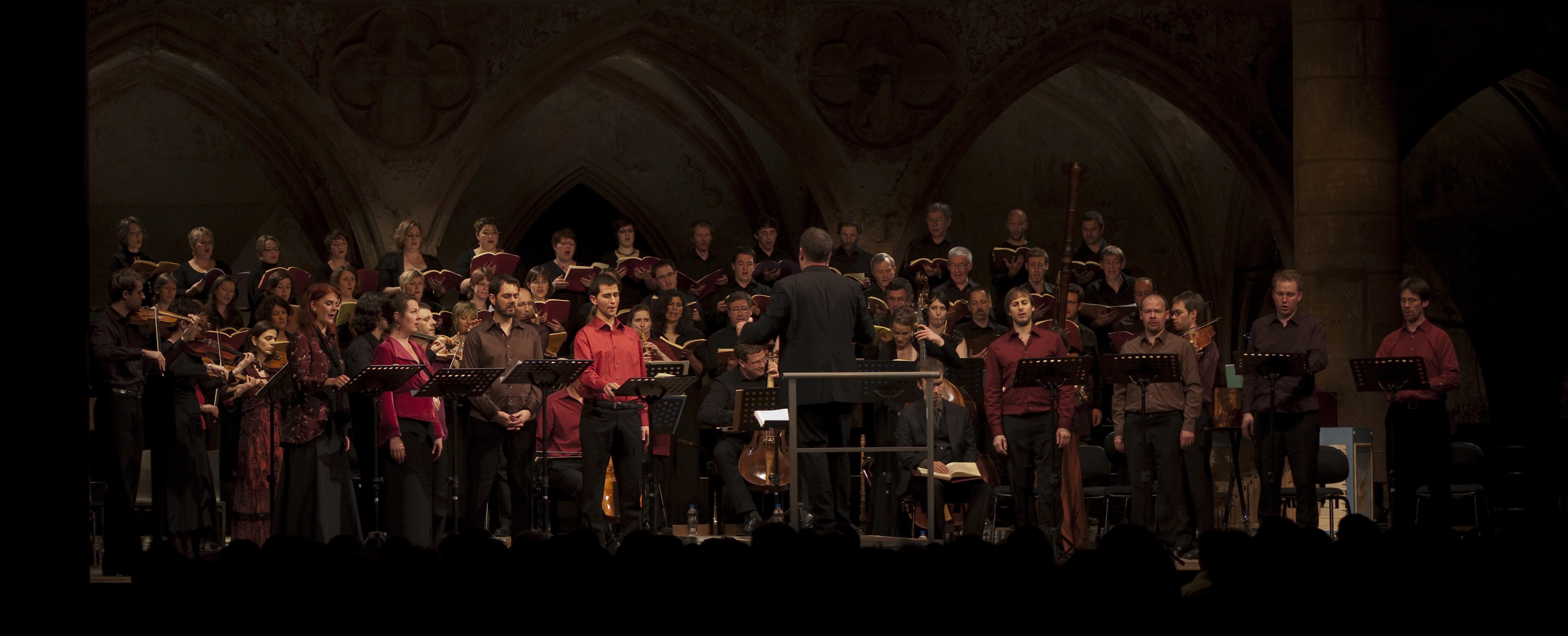 Avec l'Atelier Vocal d'Alsace