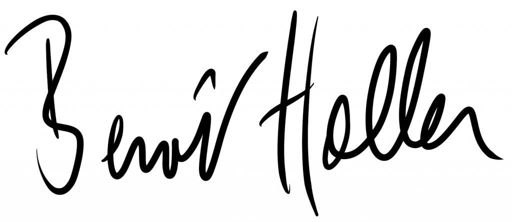 Signature Benoît Haller